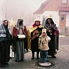 Martin Haider, Josef Kronseder, Bernhard Holzner, Bernd Kittel mit Sohn Korbinian (er will auch mal König werden)